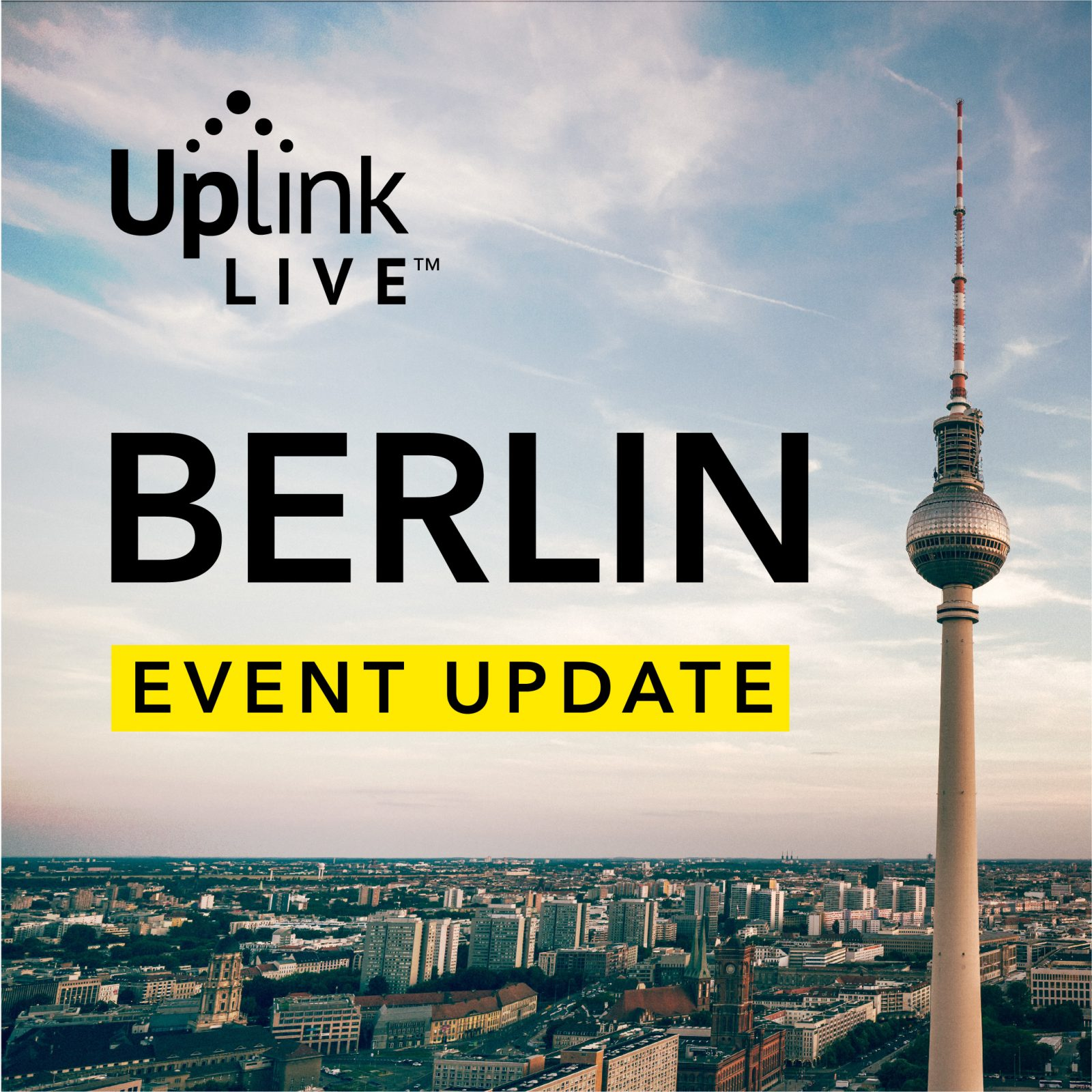 Uplink Live Berlin 2020 Health + Safety Update